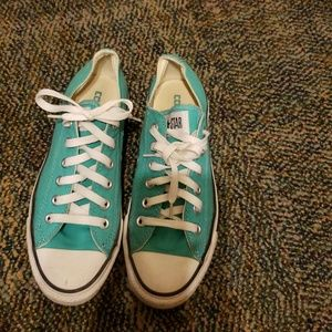 Converse Shoes - Seafoam Green Converse